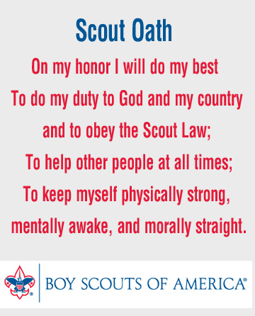 photograph relating to Boy Scout Law Printable identify Boy Scout Troop 54 Succasunna, NJ